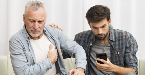 Un fils appelle les urgences pour son père