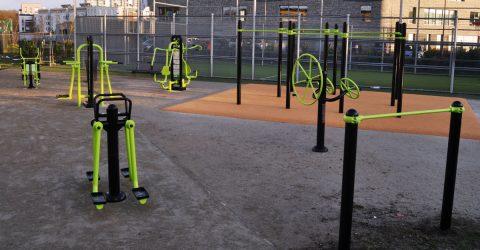 l'espace fitness en plein air