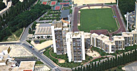 vue aérienne de Clichy-sous-bois