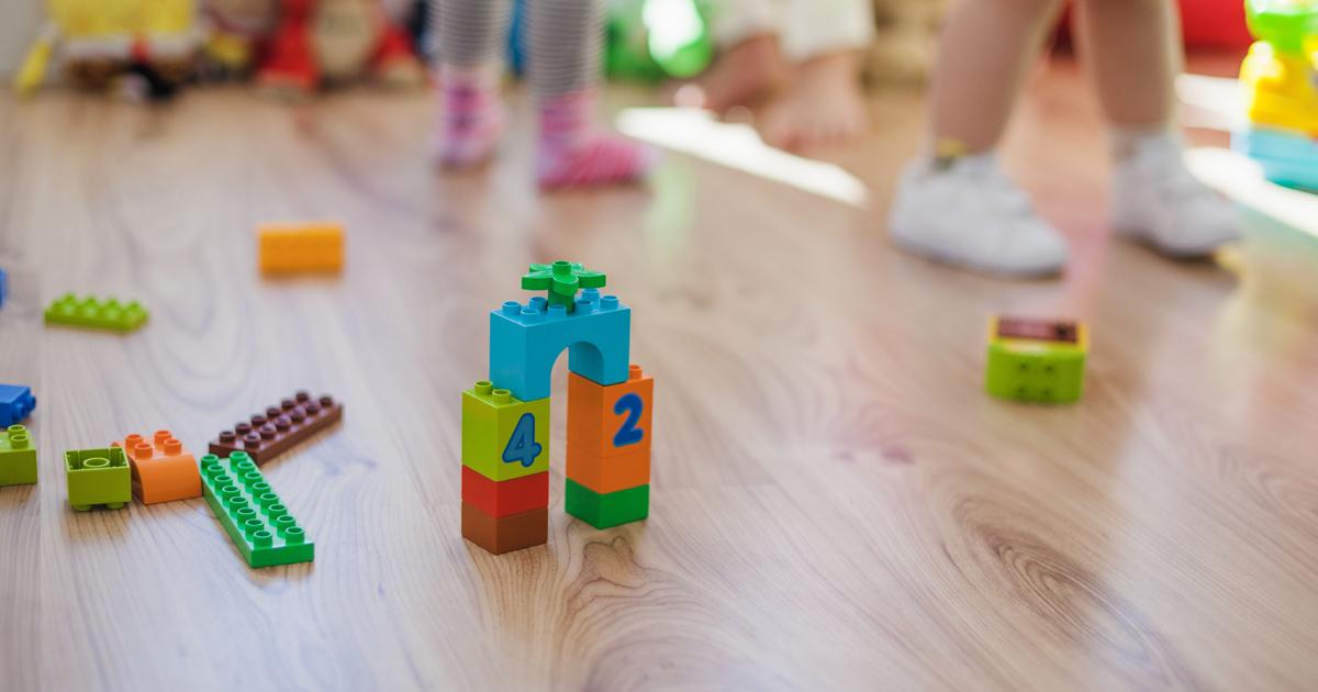 vue sur un jouet dans une crèche