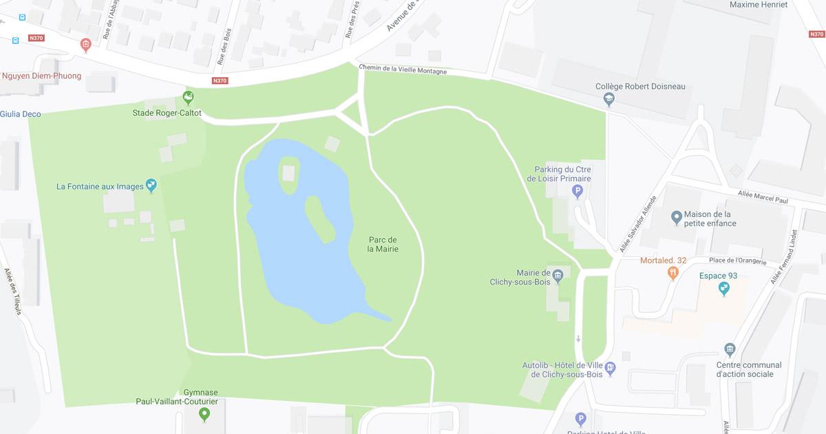 plan Clichy-sous-bois