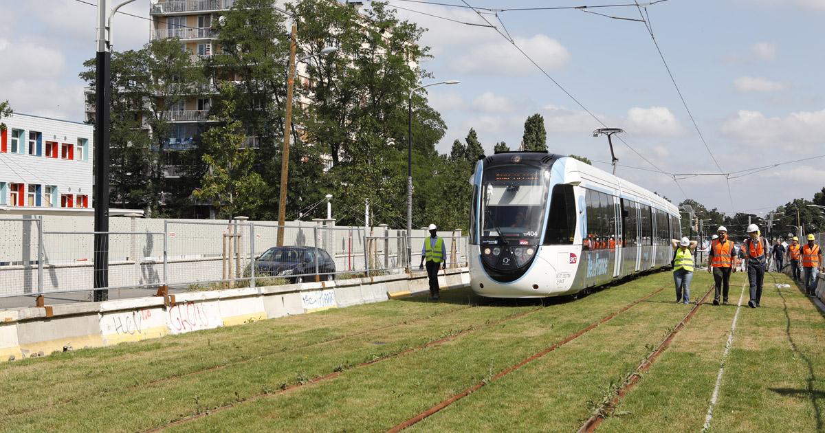 le tramway T4 à Clichy-sous-Bois