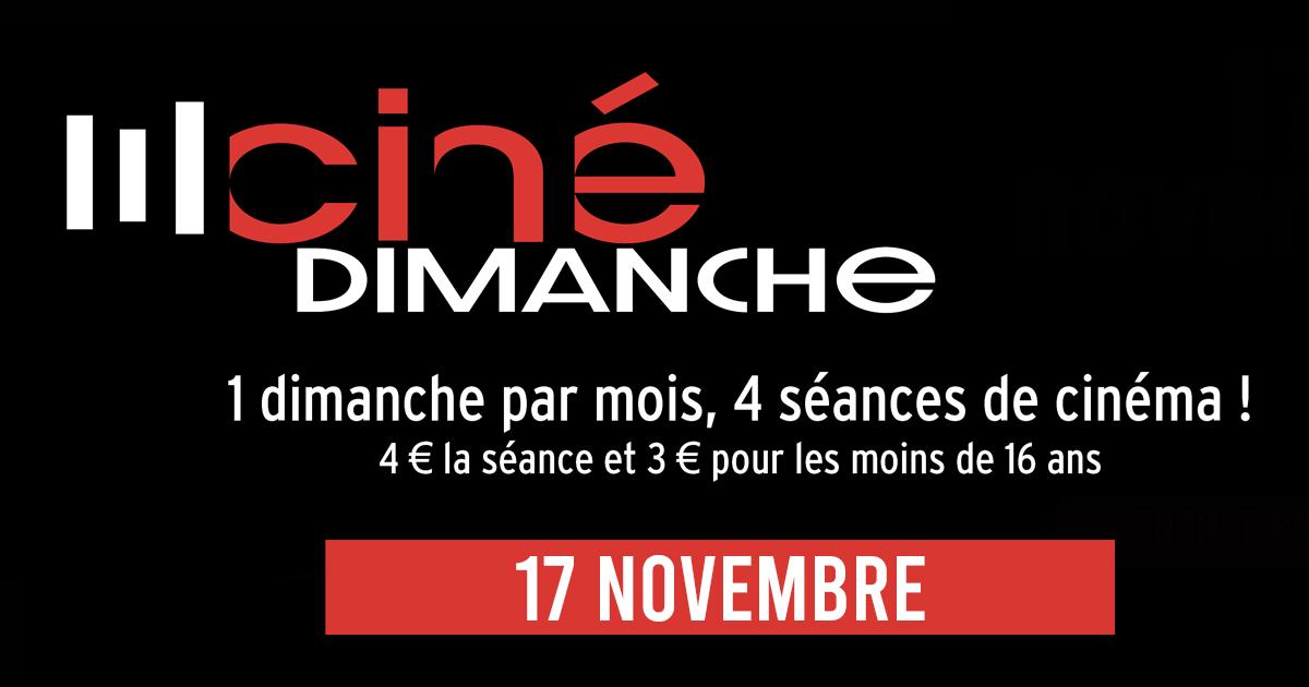 cine dimanche 17 novembre
