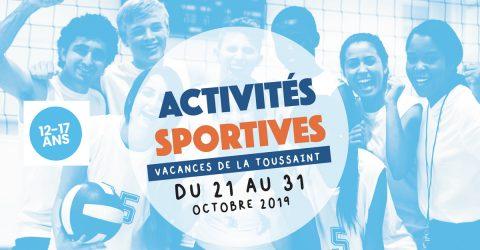 activites sportives toussaint 12-17
