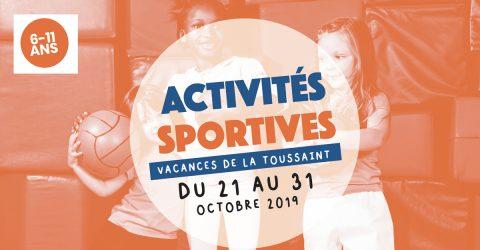 Activités sportives pour les 6-11 ans | Vacances de la Toussaint